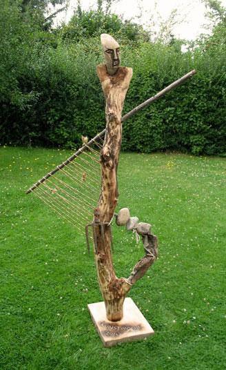 Skulpturen holz kunst atelier pazatka for Gartendeko aus stein und metall