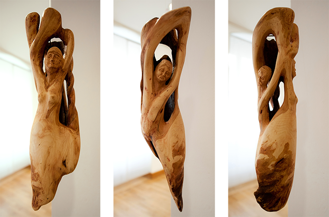 Skulpturen Holz - Kunst Atelier Pazatka